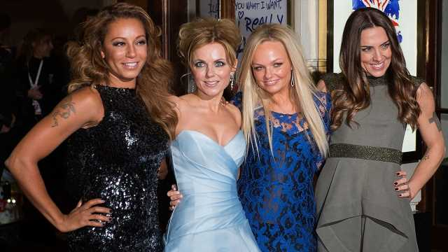 Mel B and Geri Horner have put lesbian sex rumors behind them for Spice Girls reunion tour, Emma Bunton says