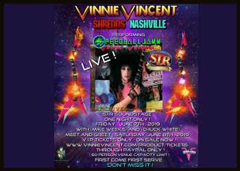 Former KISS Guitarist Vinnie Vincent Announces Rare Public Appearance