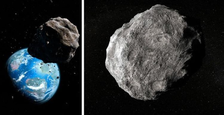 NASA asteroid tracker: A 60,500MPH asteroid will skim Earth TONIGHT twice as close as Moon