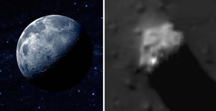 Secret spaceship base 'found on the Moon' – UFO hunters in astonishing claim