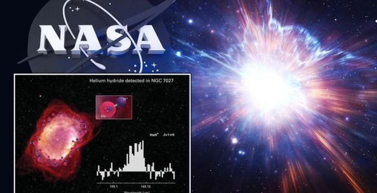 NASA discovery: Agency detects Universe's OLDEST molecule