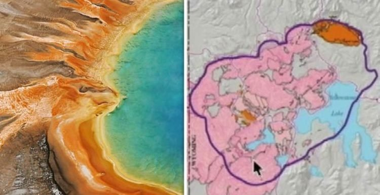 Yellowstone volcano: USGS scientist's warning over 'BIG ONE ... on high resolution yellowstone map, nps yellowstone map, yellowstone national park wy to farmington new mexico map, yellowstone national park topo map, yellowstone np map,
