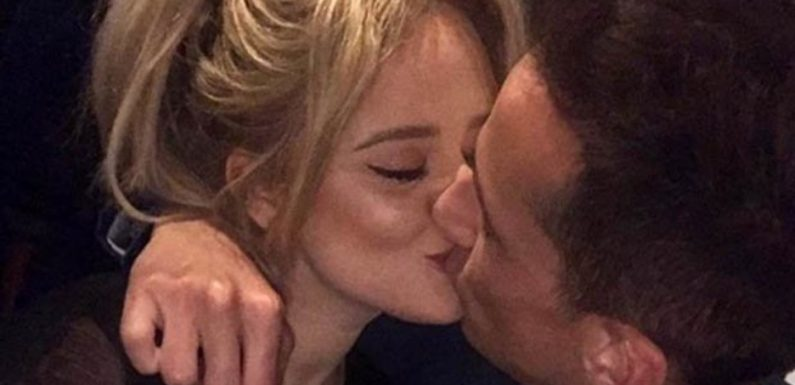 Emily Atack shares public smooch with her new man – but fans are torn