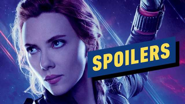 Why Endgame Handled Black Widow's Story the Way It Did