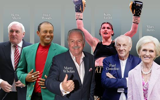 From Tiger Woods to Paul Costelloe: why we always love a comeback story