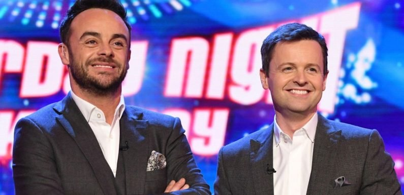 Ant and Dec seated the wrong way round at TV BAFTAs