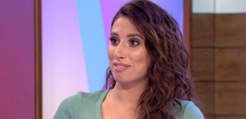 Stacey Solomon reveals sweet way dog has changed since she became pregnant