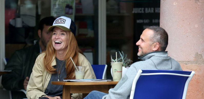 Patsy Palmer enjoys bike ride date with husband ahead of EastEnders return