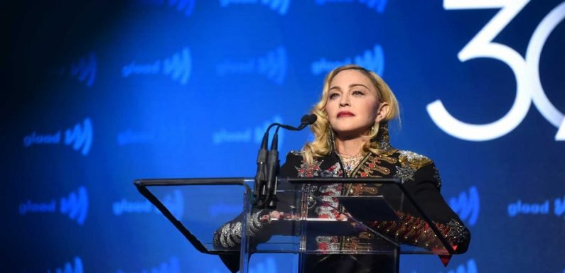 See Madonna Deliver Emotional Speech on AIDS Activism at GLAAD Awards