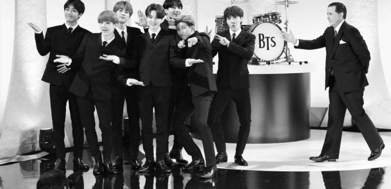 Watch K-Pop Band BTS Appear as The Beatles on 'Colbert'
