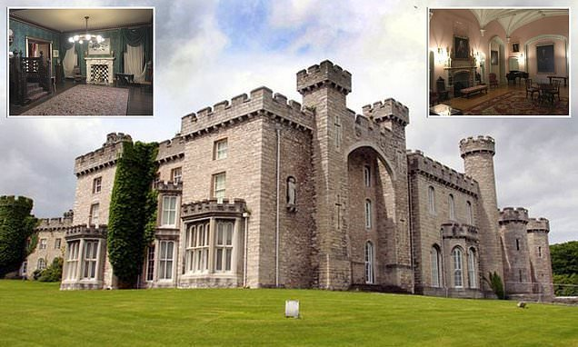 Haunted castle in Wales hits the market for £1million