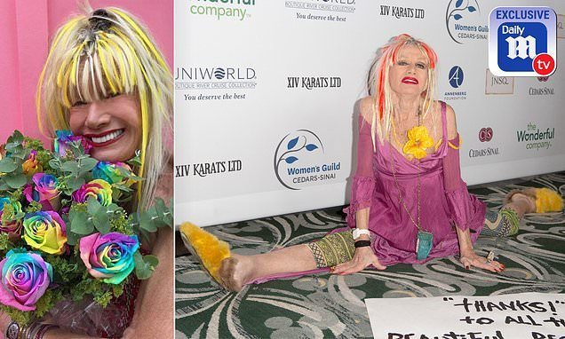 Betsey Johnson says she was 'f***ing happy to wake up' after surgery