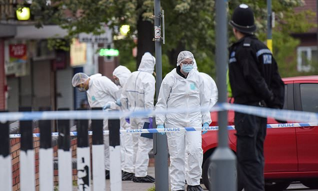 Man, 23, is shot dead and two aged 20 and 19 are in hospital