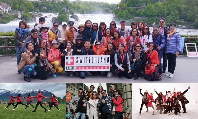 Firm takes 12,000 employees on a holiday to Switzerland to reward them