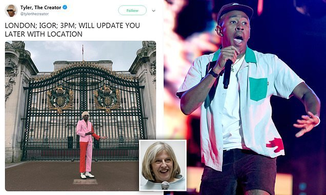 Tyler, The Creator arrives in London after UK ban lifted