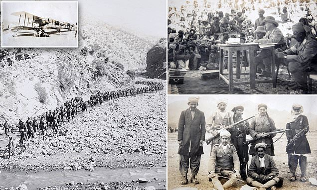 In images: British troops fight tribes on Afghan border 100 years ago