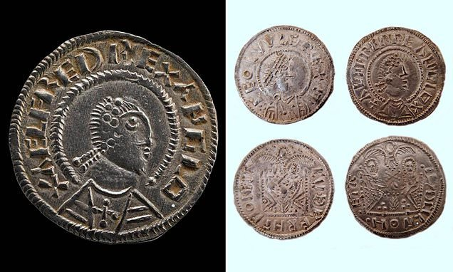 Viking coins worth at least £500,000 found during police raids