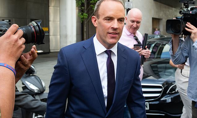 Dominic Raab criticised after admitting he's 'probably not' a feminist