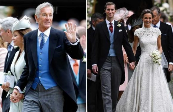 Pippa Middleton's father-in-law 'still under investigation over rape of teen girl 14 months after arrest'