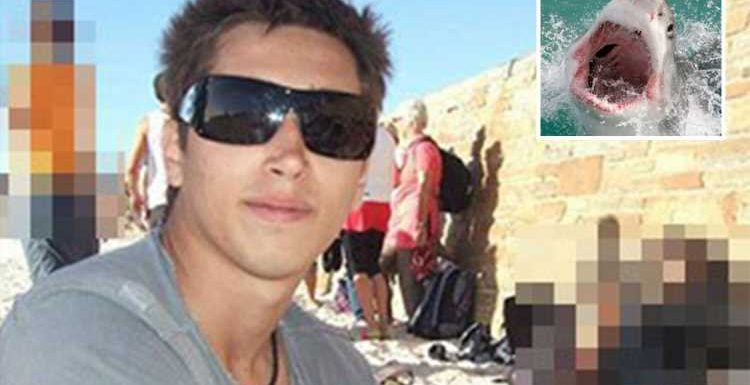 Shark attack kills surfer, 28, after monster fish rose from the deep and ripped off tourist's leg