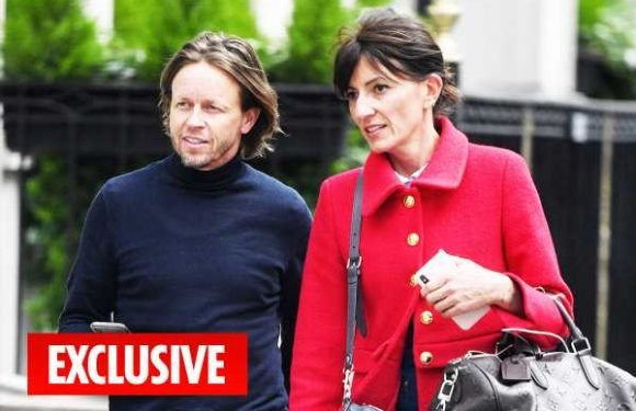 Davina McCall finds love again with long-term friend Michael Douglas as pair spotted holding hands at Chelsea Flower Show