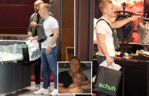 Katie Price's boyfriend Kris Boyson sparks rumours he'll PROPOSE on her 41st birthday as he shops for rings