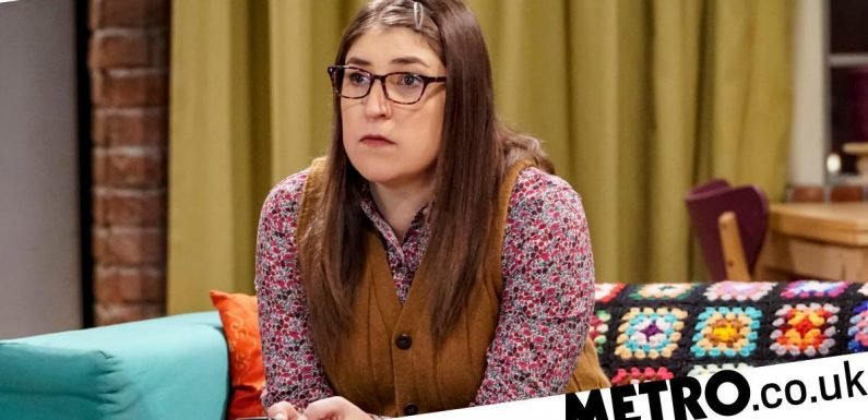 The Big Bang Theory's Mayim Bialik shares video of empty dressing room