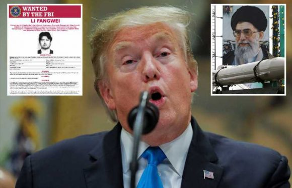 Trump hits both China AND Iran where it hurts by sanctioning shadowy Chinese missile merchant who was flogging weapons to Tehran – The Sun