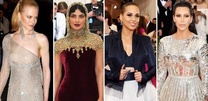 Look Back at the Most Major Fashion Moments in Met Gala History