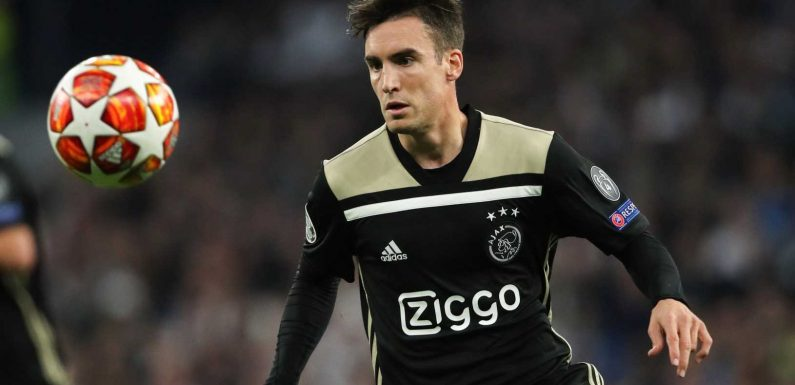 Arsenal could hand Ajax defender Nicolas Tagliafico mega pay-day if they seal transfer next summer due to bizarre contract clause