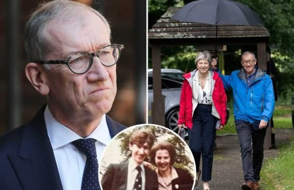How Theresa May's husband Philip became her biggest supporter and helped her through Brexit mauling