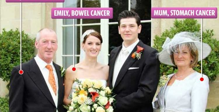 I was diagnosed with terminal cancer at the same time as both of my parents
