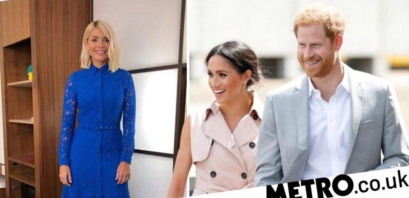 Holly Willoughby pays homage to royal baby as Meghan Markle gives birth