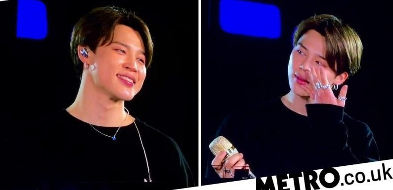 BTS' Jimin explains the heartwarming reason he cried on-stage in Brazil