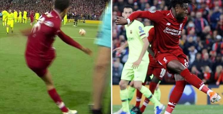 'Genius' Alexander-Arnold sends Liverpool through with incredible quick-thinking corner to Origi against sleeping Barcelona
