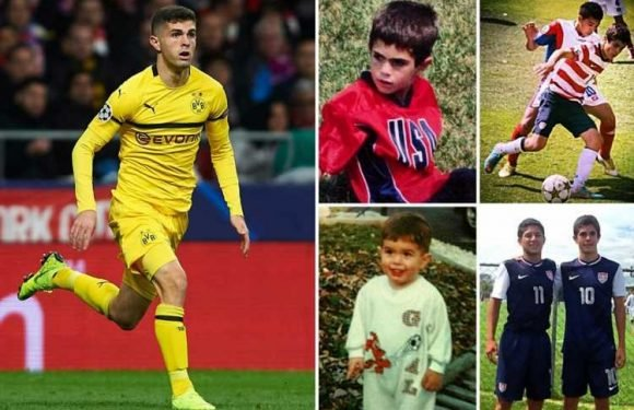 Christian Pulisic: Chelsea's new £58million American signing started at non-League Brackley Town