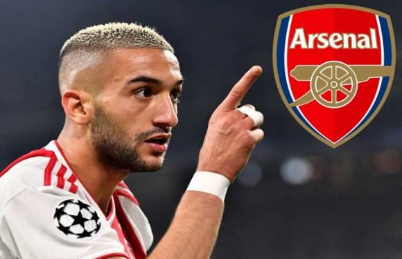 Ajax sensation Ziyech said he wanted 'dream' Arsenal transfer… and is now available at £25m