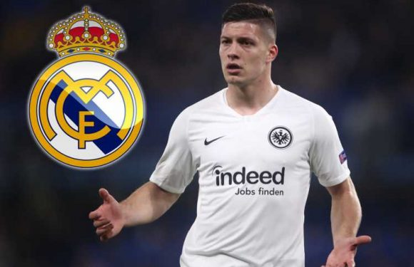Real Madrid 'complete signing' of Luka Jovic from Frankfurt in £52m transfer