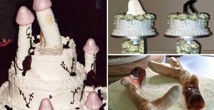 From penis-shaped turrets to creepy brides: These are some of the worst wedding cake disasters of all time
