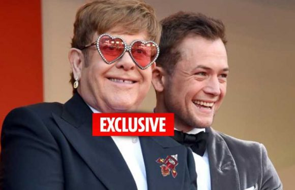Elton John defends Rocketman's Taron Egerton after claims that a gay icon shouldn't be played by a straight actor
