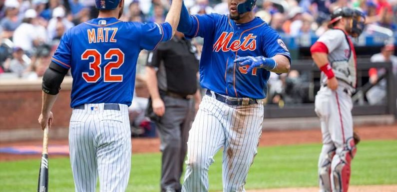 Carlos Gomez's blast vs. Nationals puts Mets in unfamiliar territory