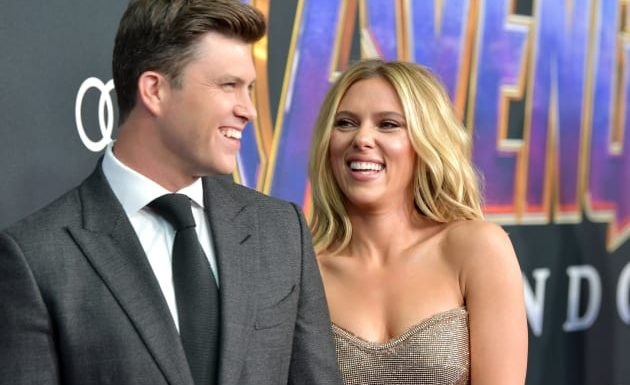 Colin Jost and Scarlett Johansson: ENGAGED!