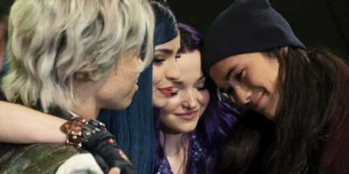Sofia Carson Shared an Emotional Last Day On 'Descendants 3′ Set With Dove, Booboo & Cameron