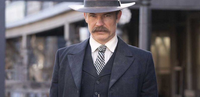 Timothy Olyphant discusses Deadwood return: 'Why did this go off the air?'