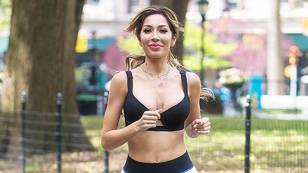 Farrah Abraham Shows Off Her Cleavage In Bra Top As She Exercises In NYC — Pics