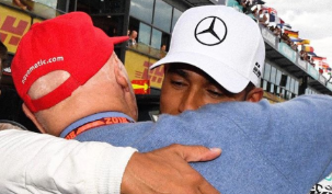 Lewis Hamilton's emotional tribute to 'bright light' Niki Lauda after F1 legend's death