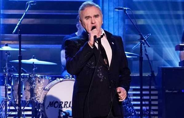 'Tonight Show' and Jimmy Fallon slammed for allowing Morrissey to wear far-right pin