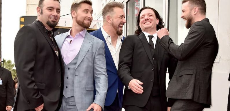 Justin Timberlake and the Boys of *NSYNC Get In on the 'It's Gonna Be May' Viral Meme Game