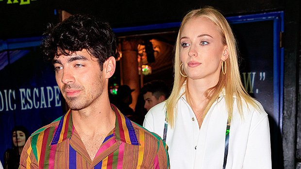 Sophie Turner Rocks White Shirt As A Mini Dress For Double Date With The JoBros & Priyanka Chopra