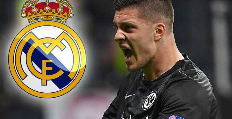 Luka Jovic 'agrees £51m Real Madrid transfer' to end Chelsea hopes of signing Frankfurt star